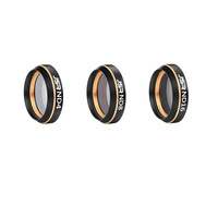 Screwed ND4 + ND8 + ND16 Neutral Density Lens Filter Kit for DJI Mavic Air Gimbal Lens Drone