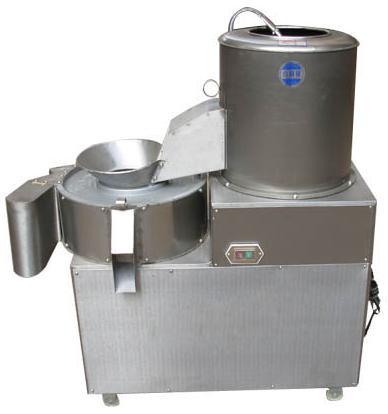 150-300KG/h Multi-function Vegetable  Potato Fries Peeler Cutter Carrot Ginger Automatic Industrial Potato Washing Peeling