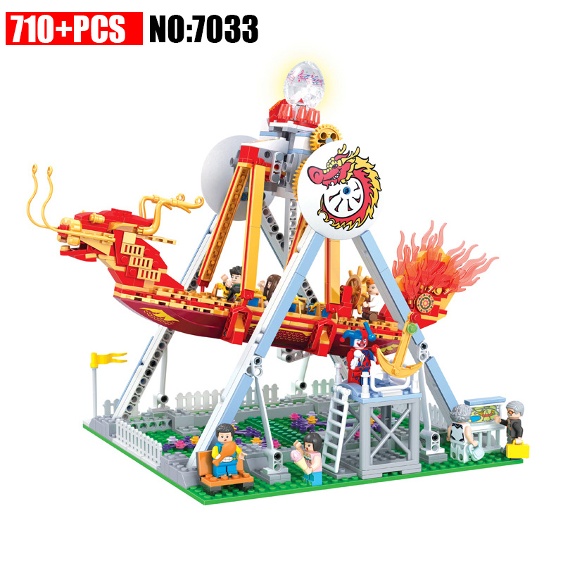 AIBOULLY 7033 City Modern Paradise Series Building Blocks Educational Toys Let The Children Create Their Own Toys Holiday Gifts the trouble with paradise