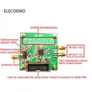 Image 3 - LMX2571 sorgente di segnale del Modulo RF modulo Phase locked loop di sorgente di modulazione FM 2018 TI concorrenza elettronico modulo