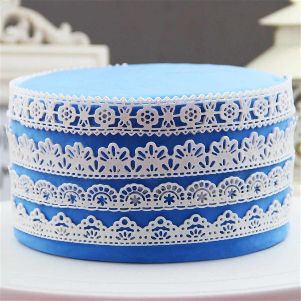 قالب تزيين الكعك على شكل كعكة فوندان من السيليكون كبير الحجم GX152 بشحن مجاني للأم والبازلاء قالب ثلاثي الأبعاد من السيليكون للطعام