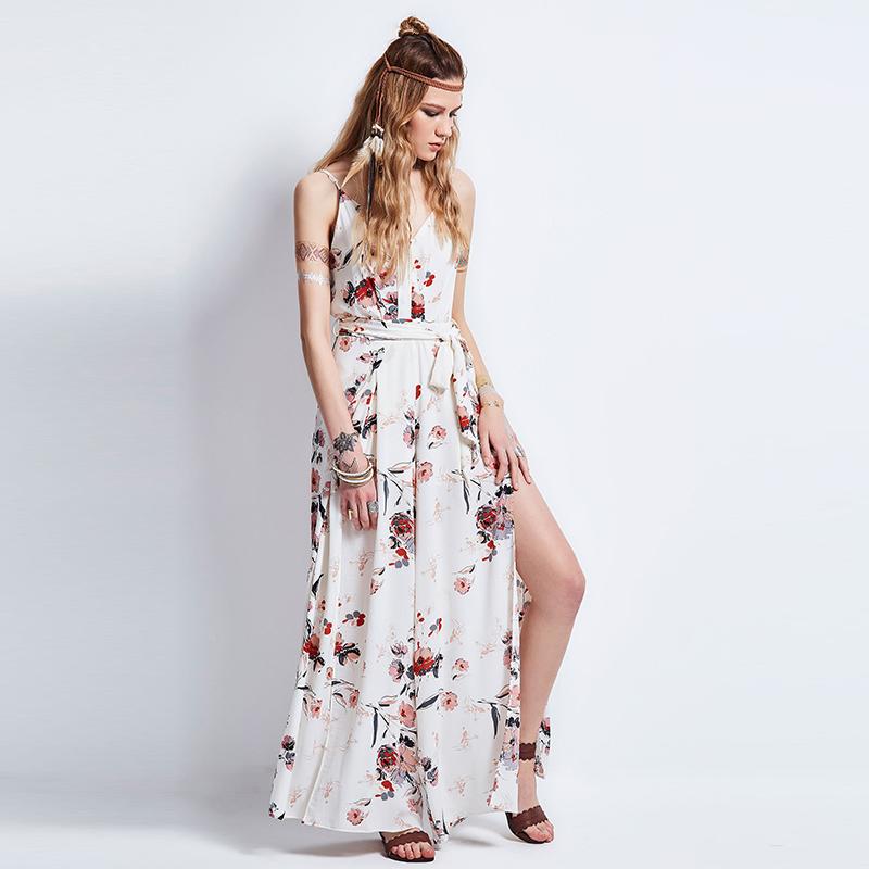 HTB1vF16QFXXXXaiXVXXq6xXFXXX9 - FREE SHIPPING Long Dress Flower Off Shoulder V neck JKP078
