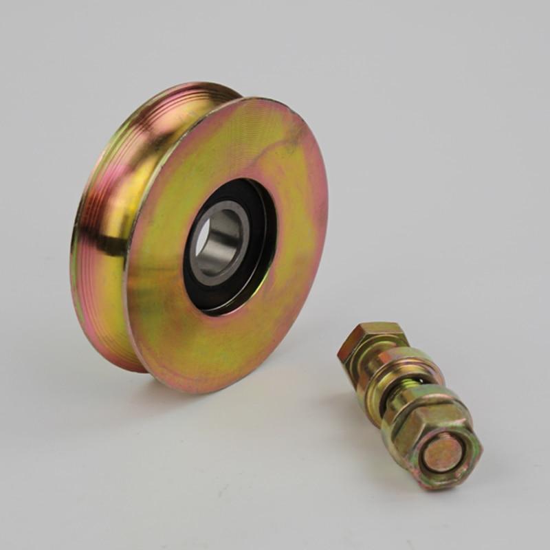 3 Inch Diameter 78mm Sliding Gate Door Wheels Rollers