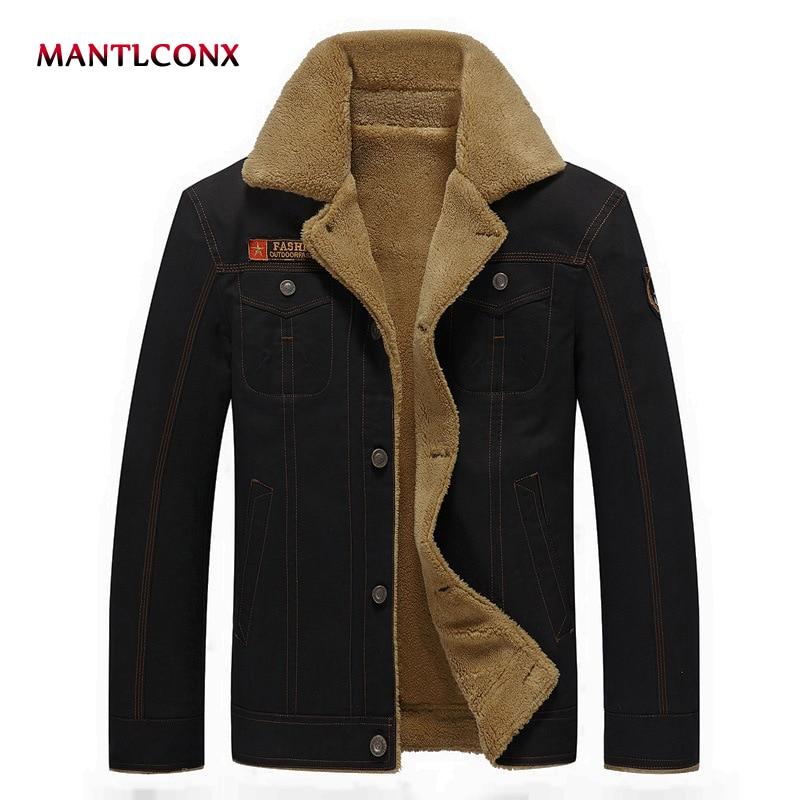 1209c76b979b Giacca cachi Casual Del Cappotto Militare Per army Outwear Inverno Uomini  Mens Nuovo Addensare Marca Degli ...