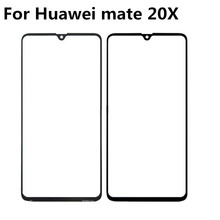 For Huawei mate 20X Touch Panel Screen Digitizer Glass Sensor Touchscreen Touch Panel Without Flex touchscreen digitizer glass panel for canon imagerunner ir 105 copier control touch screen panel