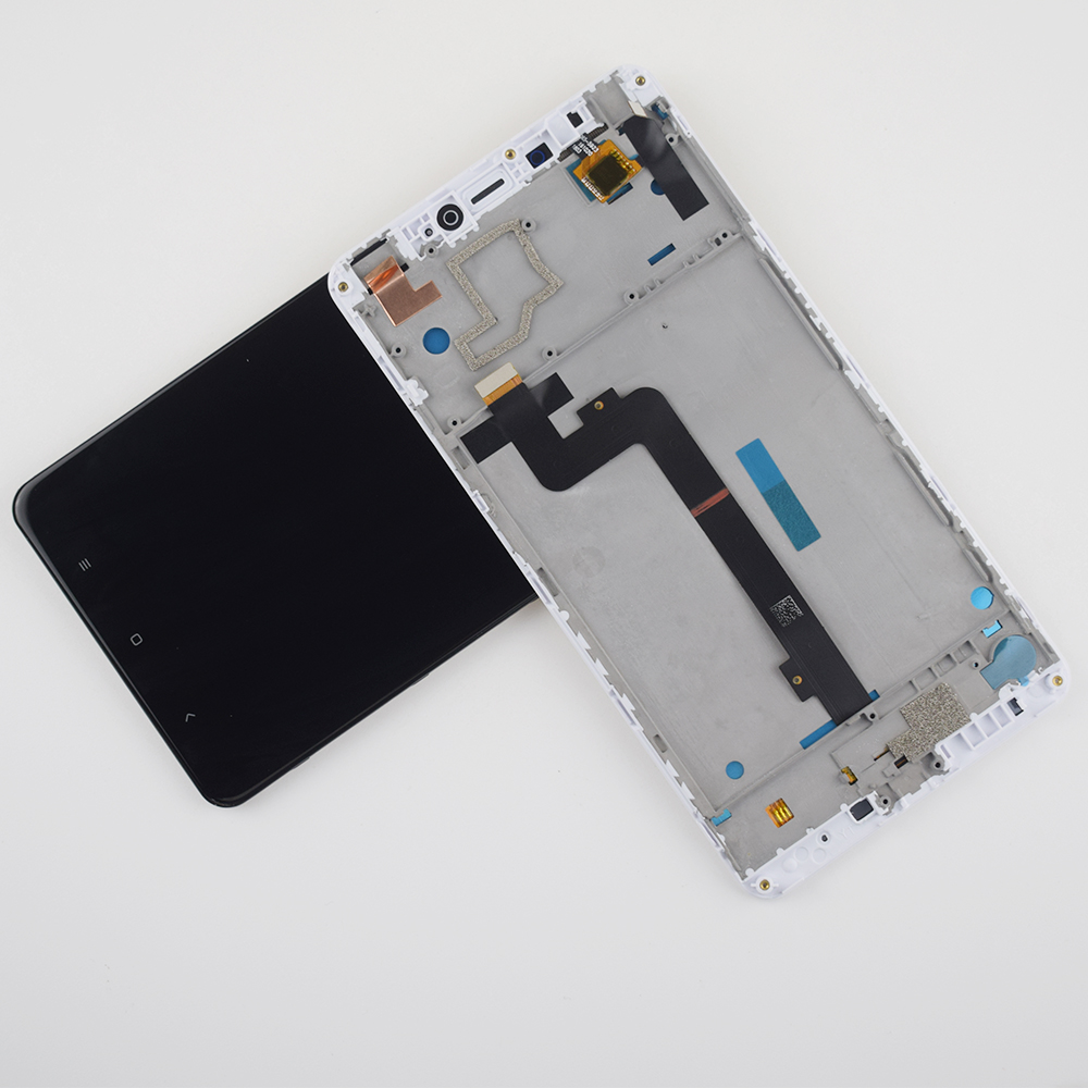 For Xiaomi Mi Max LCD Display Touch Screen Digitizer Assembly Frame For Xiaomi Mi Max Display Screen Max LCD Touch Replacement