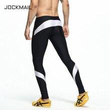 JOCKMAIL Brand Running Tights Men Jogging Sport Leggings GYM Fitness Compression Yoga Pants Elastic Athletics Quick-Drying 60614