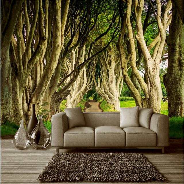 beibehang wallpaper wall murals wall stickers towering trees trees