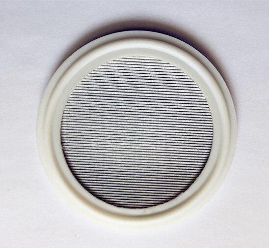 Free Shipping  PTFE Gasket 1.5-4 , Tri Clamp PTFE Gasket 150 mesh (100 micron) Sanitary Stainless Steel 304Free Shipping  PTFE Gasket 1.5-4 , Tri Clamp PTFE Gasket 150 mesh (100 micron) Sanitary Stainless Steel 304