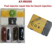 200 sets/box Универсальный инжектор ремонтные комплекты для Bosch Топливные форсунки для ford 4.6 5.0 5.4 5.8 заменяет 0280150943 ay-rk200