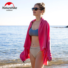 Naturehike 2019 New Arrive QuickDry Swimming Towel Swimming Equipment Also For Swimming Travel Riding Fitness Morning Running