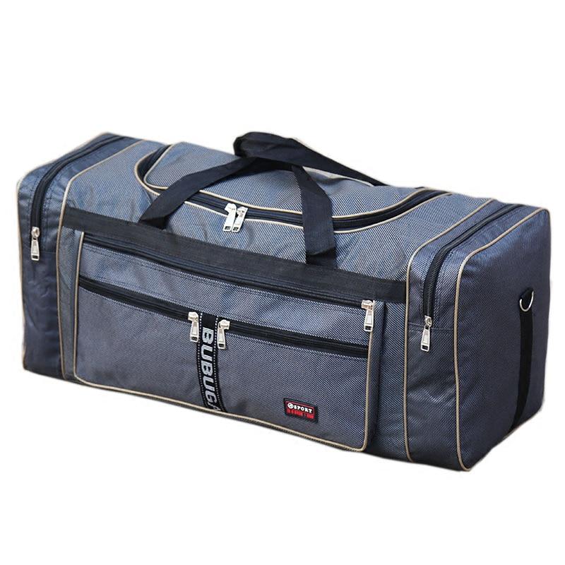 Оксфорд водонепроницаемый складной для мужчин дорожные сумки 3 цвета большой чемодан Органайзер T566