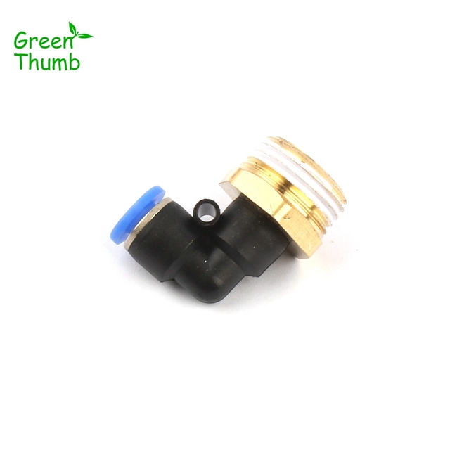 30pcs inner diameter 6mm8mm pneumatic elbow connector garden hose quick connector 12 - Garden Hose Diameter