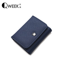 Short Women Wallets Made With PU Leather Bags