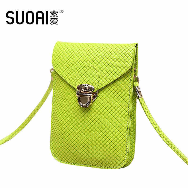 Bolso del teléfono móvil de SUOAI Messenger linda mujer mini bolso - Bolsos - foto 1