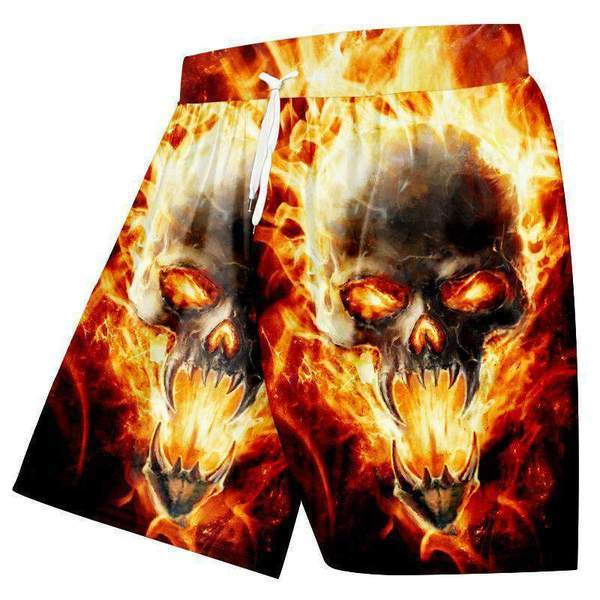 YFFUSHI 2019 Male 3d T-shirts Skull Print T Shirts Men Cool Wolf T shirt Hipster Summer Tops Men Tees Hip Hop Streetwear
