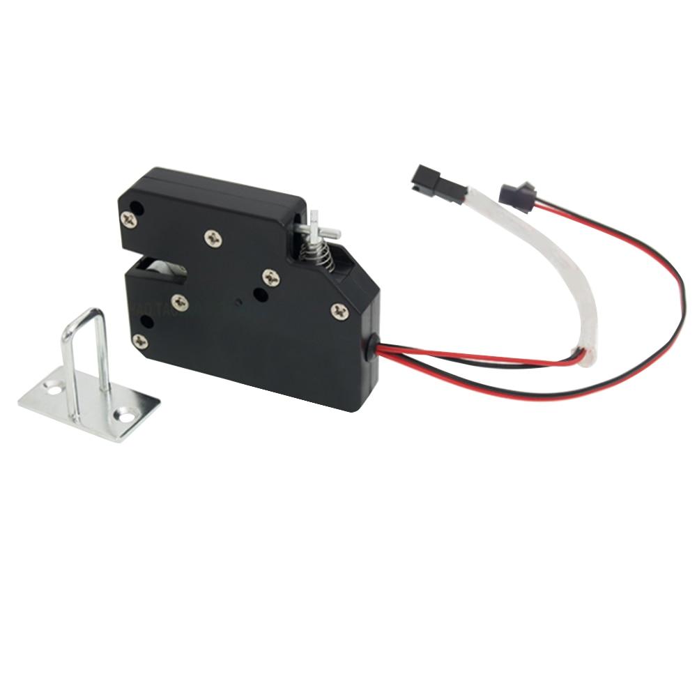 DC 12V Mini Electrical Lock Smart Cabinet Lock Cupboard Case Anti-Theft Lock Universal