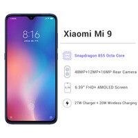 Global ROM Xiaomi Mi 9 8GB RAM 128GB ROM Xiaomi Mobile Phones