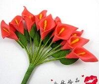 720 יח'\חבילה DIY מלאכותי מיני קצף אדום כלה לילי פרח קופסות סוכריות Invational חתונה מתנה של צד לטובת wa001