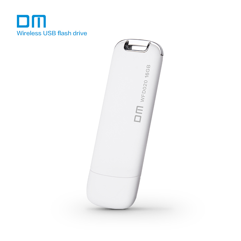 Dm WFD020 16 GB 32 GB 64 GB 128 GB nirkabel USB Flash Drives WIFI untuk iPhone / Android / PC pintar memori Pen Drive Usb Stick