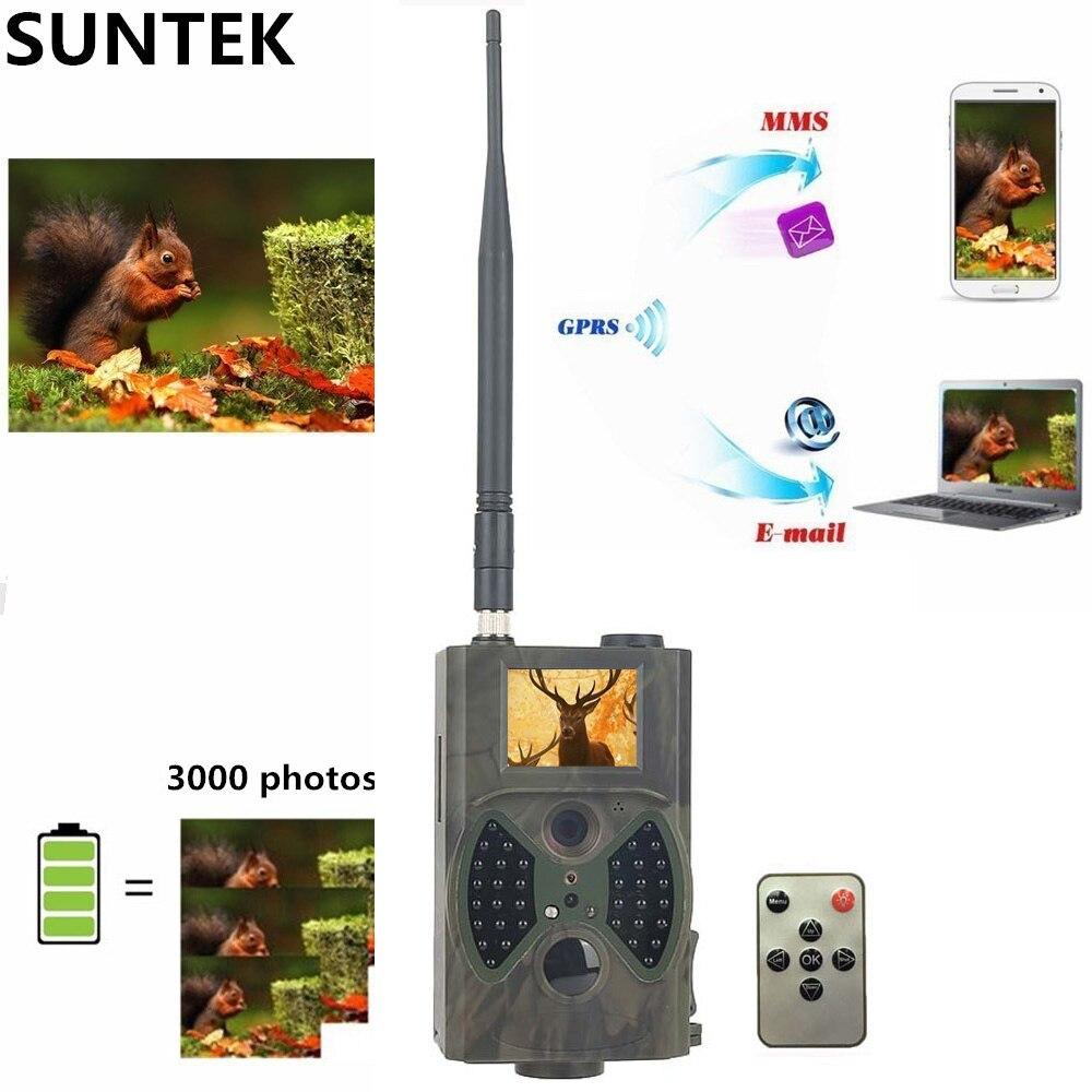 Caméra de suivi de Vision nocturne 12MP MMS GSM piège Photo caméscope chasseur caméra extérieure GPRS infrarouge pour la chasse