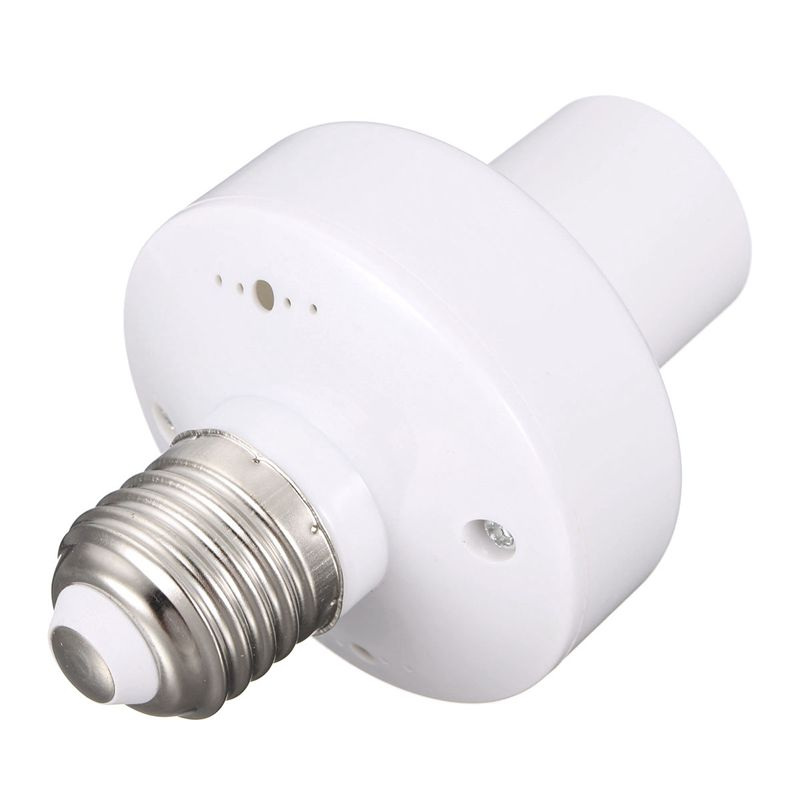 Mising 220V Wireless Remote Control Lamp Holder for E27 Energy-Saving Lamps LED Bulb Incandescent Lamp