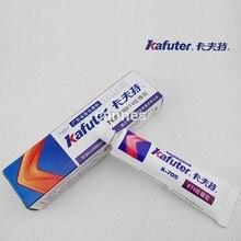 2 шт./лот Подлинная Kafuter k-705 RTV силиконовой резины электронный клей герметик прозрачный кремнийорганические 45 г
