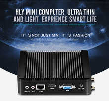Lastest Mini PC N2930 1.83GHz Desktop Fanless pc barebone Wifi optional thin client KK-n2930 cpu optional j1900