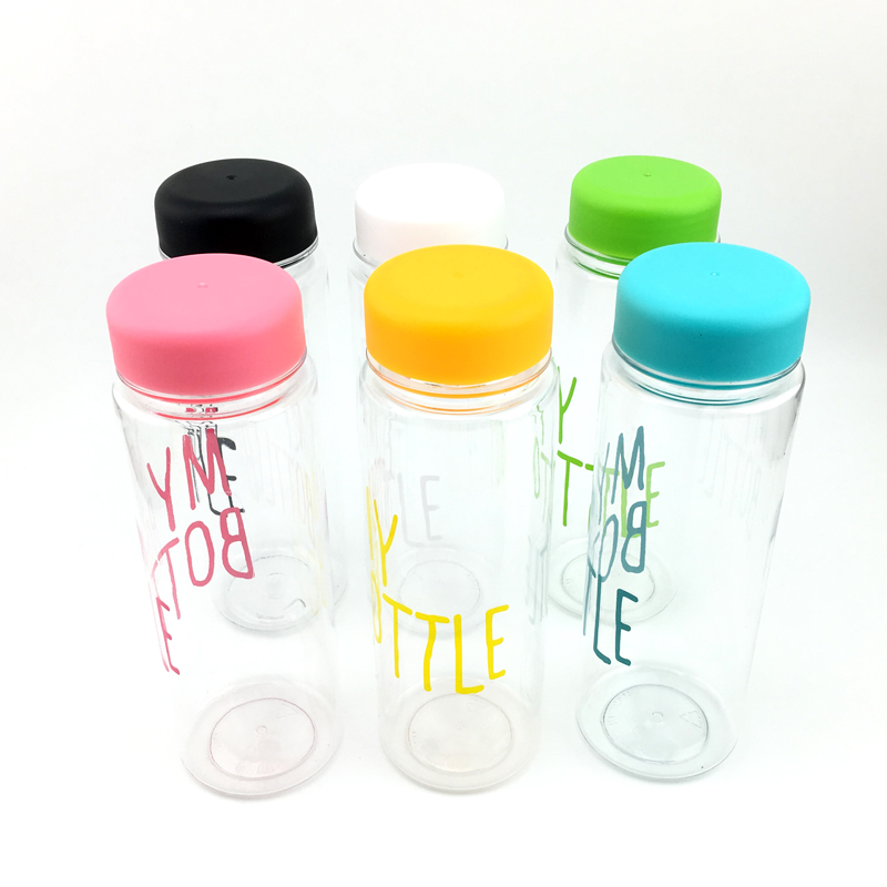 500ML Bpa Free Garrafas Bottle Plastic Sport Water Bottle Outdoor Sport Running Camping Hiking Leak-Proof Bicycle