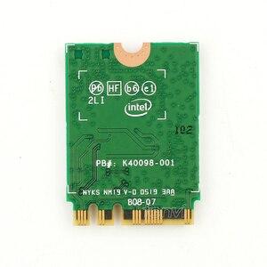 Image 3 - ثنائي النطاق 2.4Gbps اللاسلكية إنتل واي فاي 6 AX200 بلوتوث 5.0 802.11ax/التيار المتناوب MU MIMO 2x2 واي فاي NGFF M.2 شبكة Wlan بطاقة AX200NGW