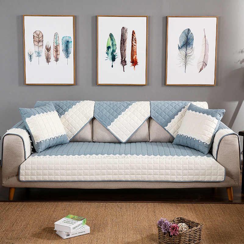 Sofa Cover Cotton Slip Resistant