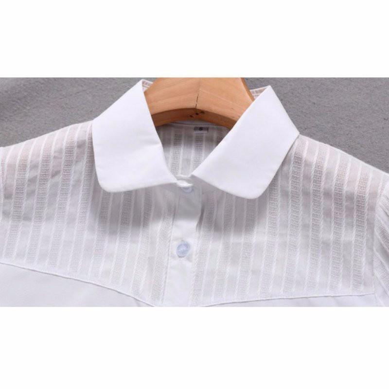 HTB1vF6.NpXXXXcjXXXXq6xXFXXX4 - FREE SHIPPING White Blouse Shirt Women Work Wear Long Sleeve JKP092