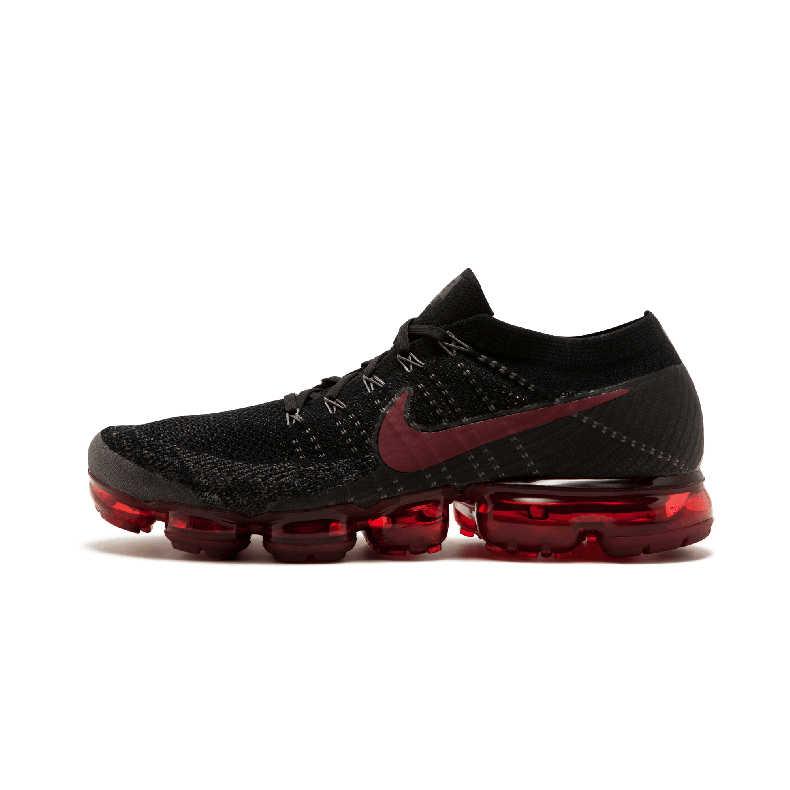 Оригинальный Nike Оригинальные кроссовки Air VaporMax быть правдой c технологией Flyknit кроссовки пропускающие воздух мужские Бег уличная спортивная обувь модные Designer883275