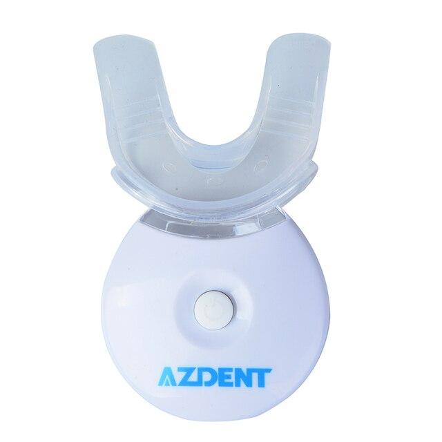 3x gels avec 1x mini Kit de lampe de blanchiment des dents de lampe LED