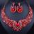 Boda Nigeriano Beads africanos Joyería Conjunto para Las Novias Partido Joyería Nupcial Fija El Envío Libre