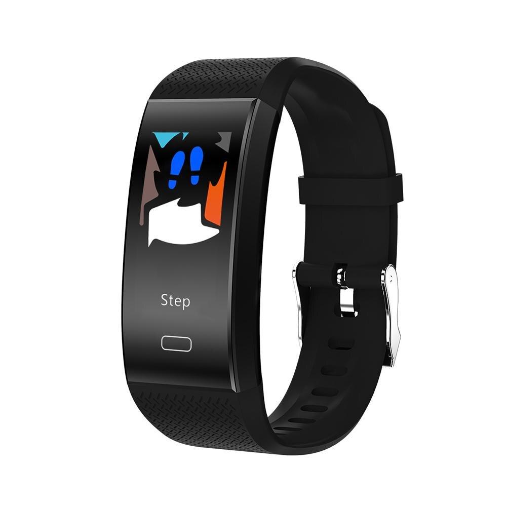 Bluetooth Monitor Di Frequenza Cardiaca Contapassi Fitness Tracker Intelligente Wristband Del Braccialetto