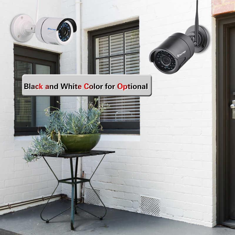 Techage аудио запись Wi Fi видеонаблюдения системы 4CH 1080 P 2MP Беспроводной NVR комплект ИК Открытый камера P2P товары теле и 1 ТБ