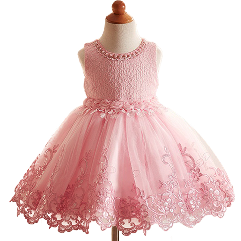 Baby Girl Princess tutu Dress Flower Lace Princess Children Bridemaid Dress For Wedding Girls Party Prom Dresses Toddler Girls 2016 spring winter baby flower girls lace wedding evening party tutu dresses children princess prom dress kids girl clothes