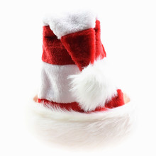 1pc Christmas Hats Red White Striped Caps Hat Adult Kids XMAS Decor New Years Gifts Home Party High Quality