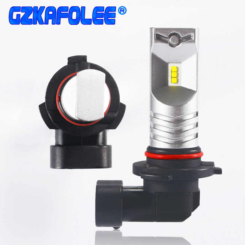 Gzkafolee hb4 led 9005 h10 9145 9140 9006 hb3 Car Headlight Bulbs 6500K 1800LM 12V 24V CSP Y19 chip