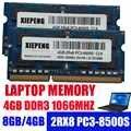 ذاكرة نوت بوك 8GB 2Rx8 PC3-8500S RAM DDR3 2G 1066 MHz 4gb pc3 8500 ل RV410 RV411 RV415 RV511 R540 R429 R428 R480 R439 كمبيوتر محمول