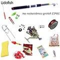 Набор рыболовных снастей  16 шт.  все необходимое оборудование для рыбалки  комбинация рыболовных снастей  рыболовные принадлежности  удочка...
