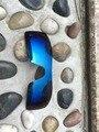 Синий Фиолетовый Цвет Замены Поляризованные Линзы для Oakley Нефтяной Вышке Солнцезащитные Очки 100% UVA и UVB