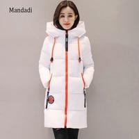 2017 Winter Jacket Women Thick Long Women Parkas Hooded Female Outwear Coat Down Cotton Padded Snow
