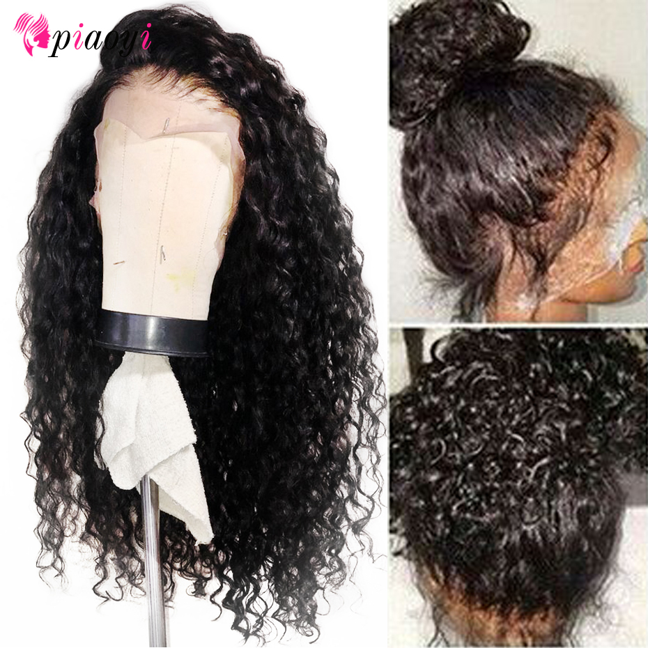 13 4 Curly Human Hair Wigs Pre Plucked With Baby Hair Remy Peruvian Wigs Glueless Lace