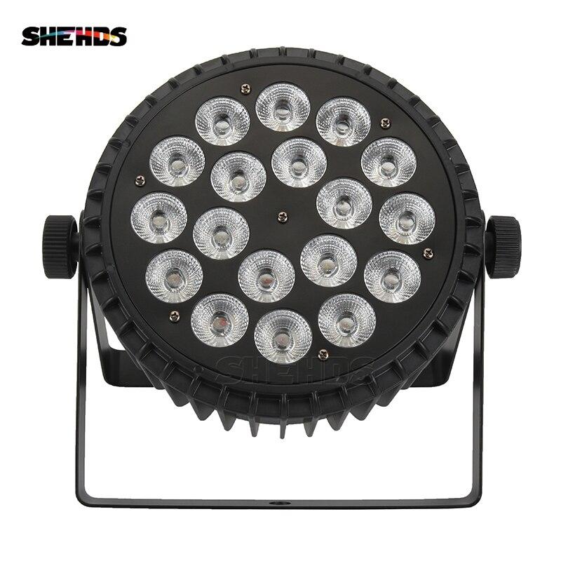 Aluminum Alloy LED Par 18x12W RGBW 4in1 LED Par Can LED Par Light DMX Stage Lights Or Party KTV Disco DJ Lamp DMX512 4/8CH