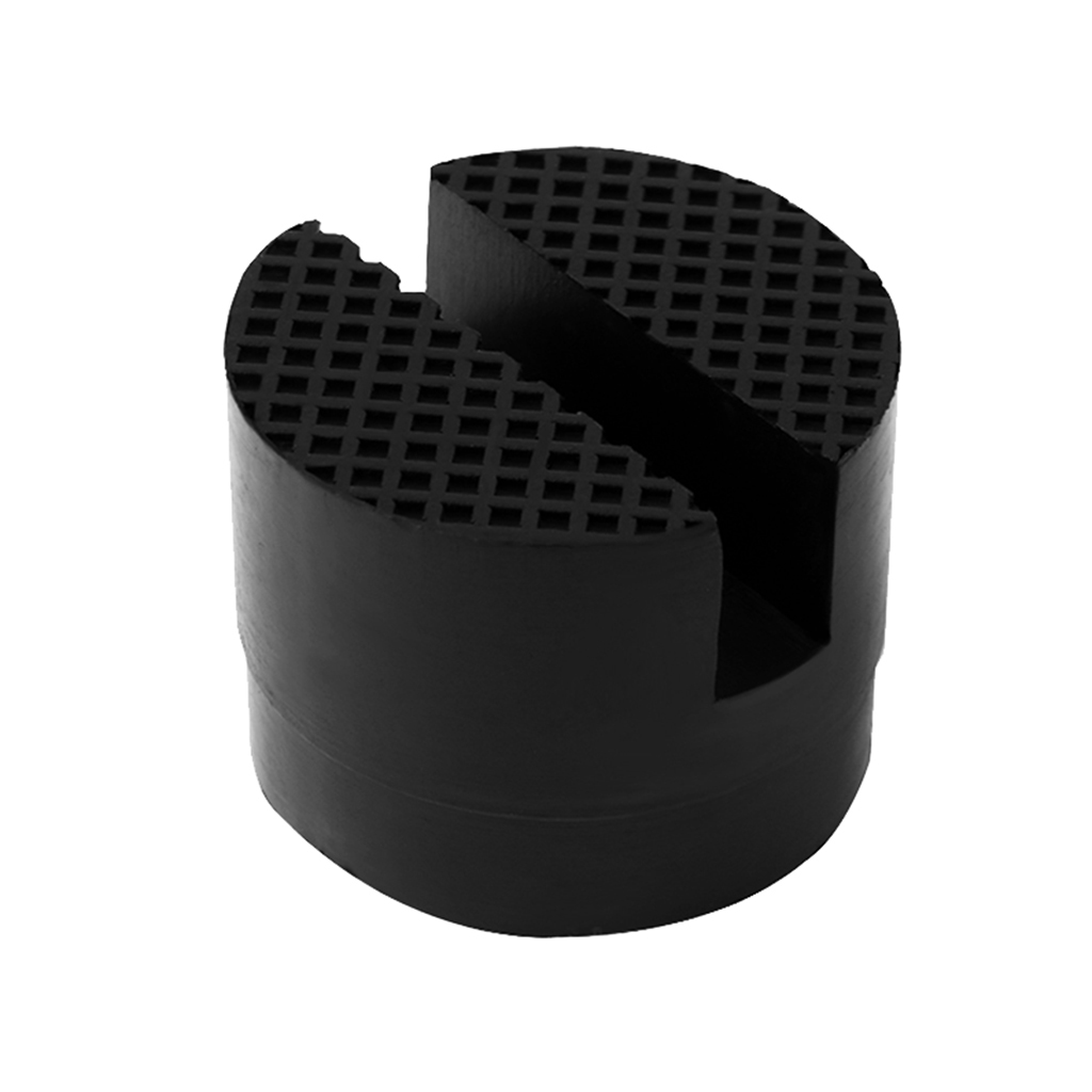 Image 5 - Car Rubber Jack Pad Frame Protector Adapter Jacking Disk Pad Tool Floor Slotted For Pinch Weld Side Lifting Disk Car Accessories