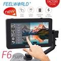 FEELWORLD F6 PLUS 5,5 дюймов 3D LUT сенсорный экран 4 K HDMI монитор Full HD 1920x1080 ips DSLR камера полевой монитор для камеры s <font><b>Nikon</b></font>