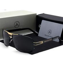 New Mercedes Benz sunglasses fashion men's UV400 sunglasses
