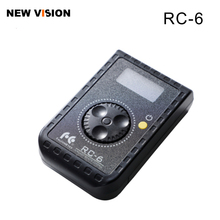 Falcon Olhos RC 6 Rotativo Controle Remoto Controle Para Led Photo Video Camera RX 12TD RX 18TD & SO 28TD/48TD/68TD luz suave